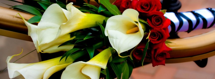 roses calla lilies flowers