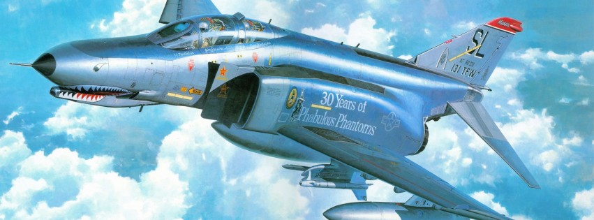F 4e Phantom Ii Art Picture