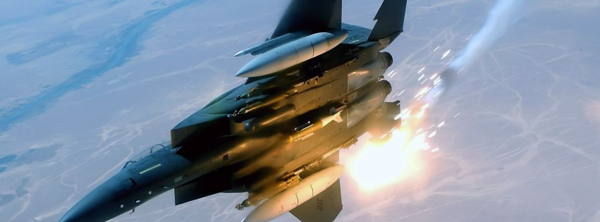 F15E Eagle Fighter Military Aircraft
