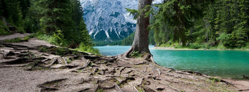 Lago Di Braies World Italy Nature Mountain