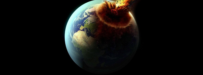 The destruction of Earth