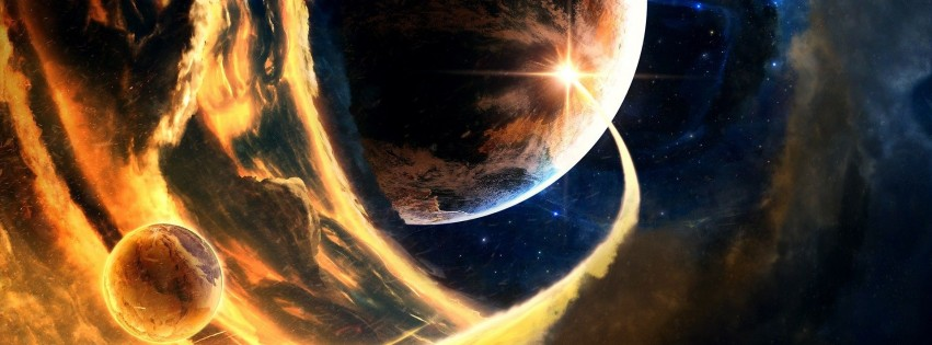 Space wallpapers abstract world magic